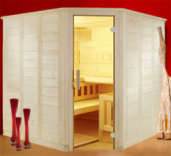 biosauna massivholz sauna kabine 2 2x2m kombi ofen steuerung optional m fenster ebay. Black Bedroom Furniture Sets. Home Design Ideas