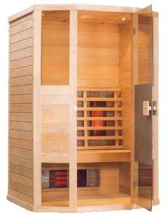 hemlock infrarot w rme kabine mit 6 vollspektrum strahler led radio kompl set. Black Bedroom Furniture Sets. Home Design Ideas