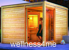au ensauna cubus mia gartensauna saunahaus sauna haus design eos technik ebay. Black Bedroom Furniture Sets. Home Design Ideas