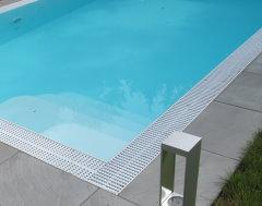 schwimmbad 7 5x3 2 pp schwimmbecken pool mit berlaufrinne becken komplett paket ebay. Black Bedroom Furniture Sets. Home Design Ideas